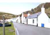 The cottage on the sea front Pennan